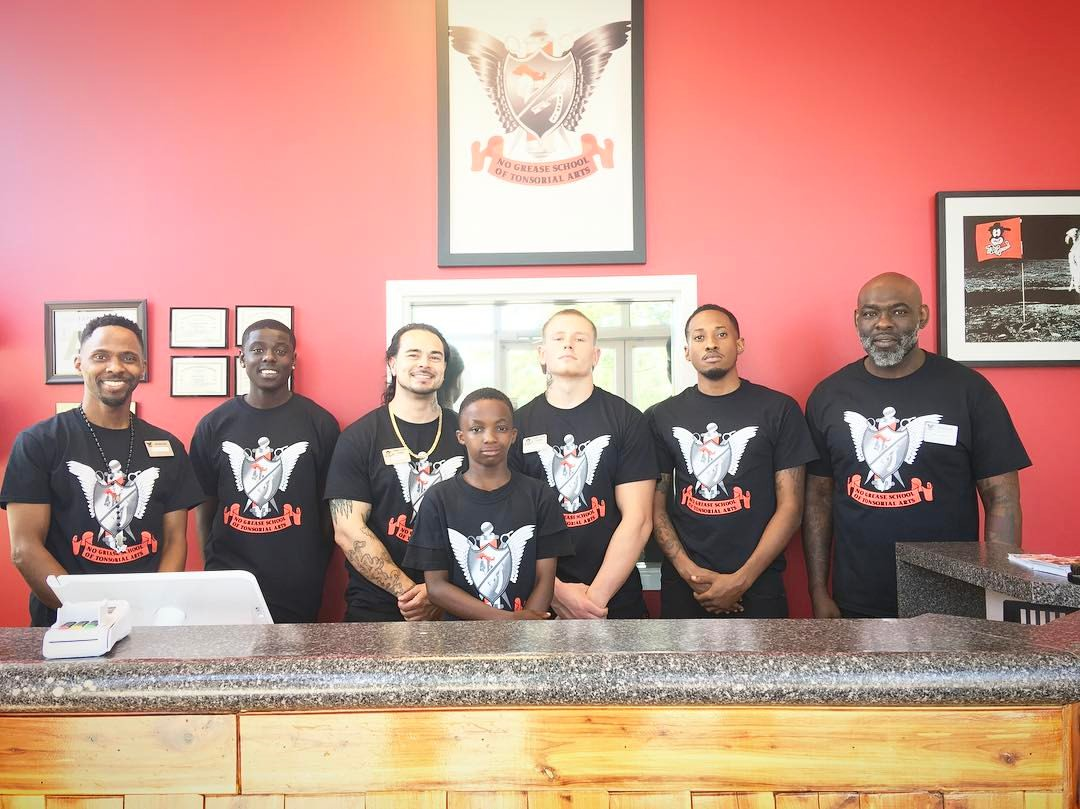 Barber College No Grease Inc Were Not Your Ordinary Barbershop